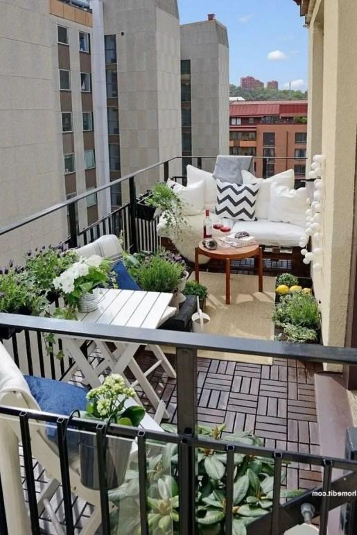 The best mini bar design ideas in balcony apartment 48