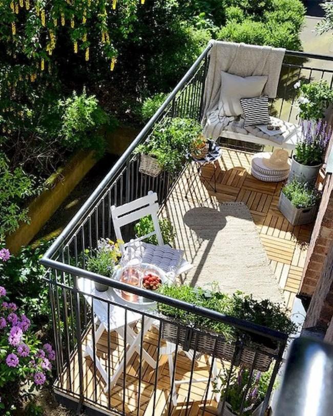 The best mini bar design ideas in balcony apartment 49