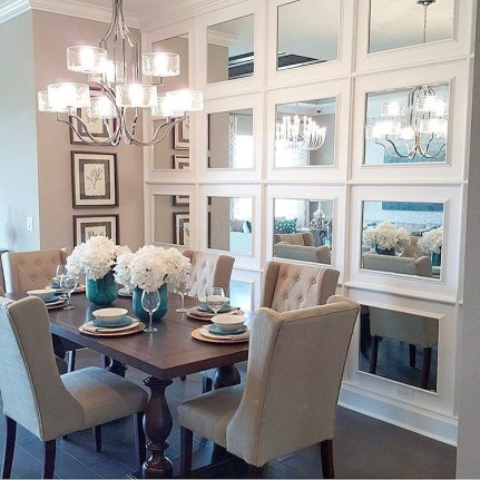 The best small dining room design ideas that you can try in your homel 06