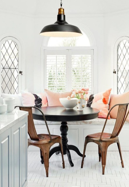 The best small dining room design ideas that you can try in your homel 14