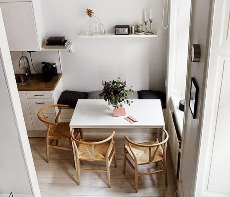The best small dining room design ideas that you can try in your homel 16