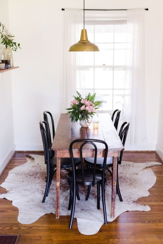 The best small dining room design ideas that you can try in your homel 38