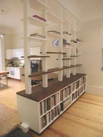 Wooden cabinet design ideas for book diy that you can make in your home 18