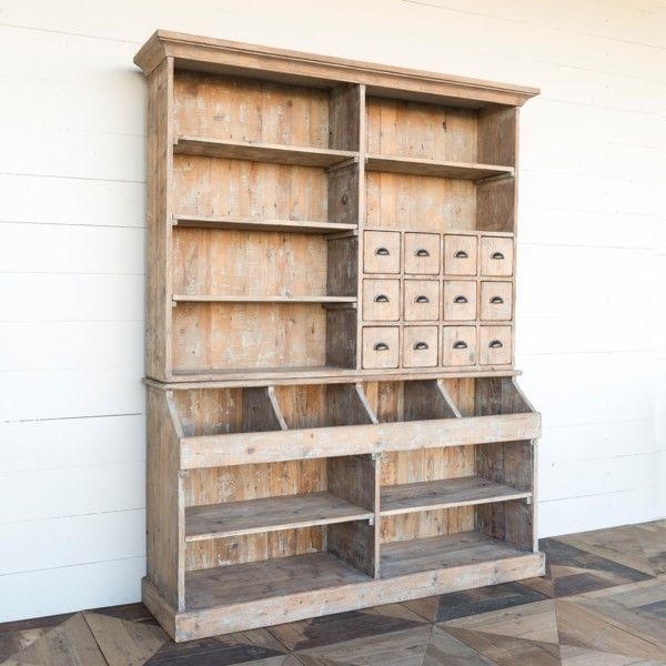 Wooden cabinet design ideas for book diy that you can make in your home 34