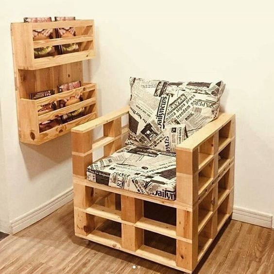 Diy chair pallet design ideas taht you can try 06