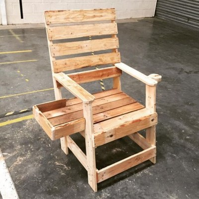 Diy chair pallet design ideas taht you can try 08