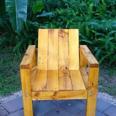 Diy chair pallet design ideas taht you can try 12