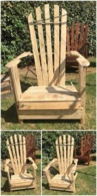 Diy chair pallet design ideas taht you can try 18