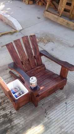 Diy chair pallet design ideas taht you can try 48