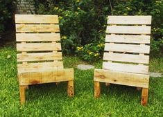 55 DIY Chair Pallet Design Ideas That You Can Try