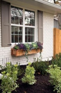Exterior decoration ideas with flower in window 32