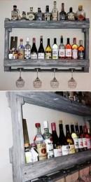 Inspiring pallet mini bar design ideas 02