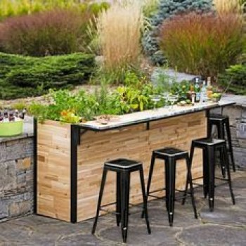 Inspiring pallet mini bar design ideas 05
