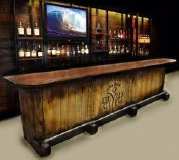 Inspiring pallet mini bar design ideas 29