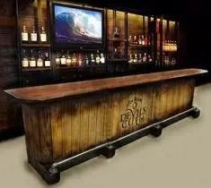 Inspiring pallet mini bar design ideas 29
