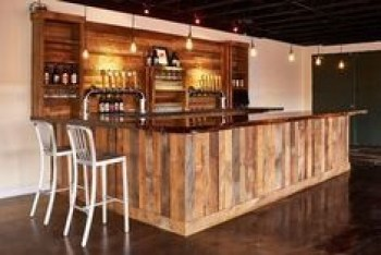 Inspiring pallet mini bar design ideas 36