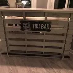 Inspiring pallet mini bar design ideas 42