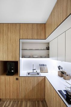 Wood kitchenset design ideas that you can try 18