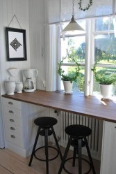 Wood kitchenset design ideas that you can try 25