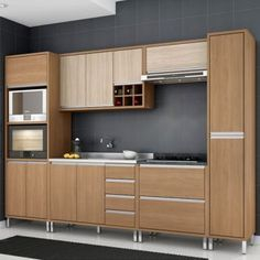 Wood kitchenset design ideas that you can try 44