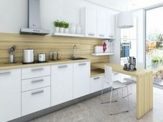 Wood kitchenset design ideas that you can try 46