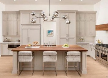 Wood kitchenset design ideas that you can try 47