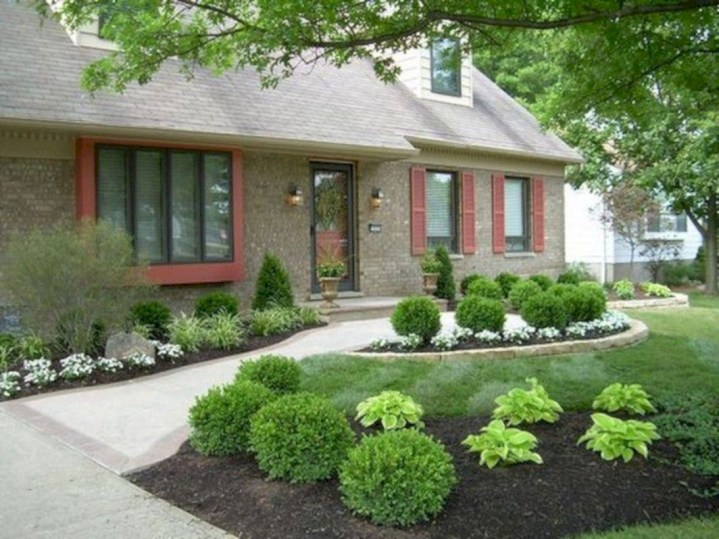 Front yard design ideas on a budget 49