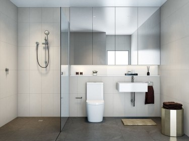 Minimalist bathroom design ideas 21