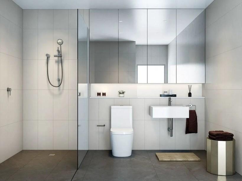 Minimalist bathroom design ideas 21