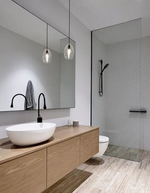 Minimalist bathroom design ideas 31