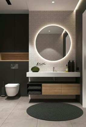 Minimalist bathroom design ideas 32
