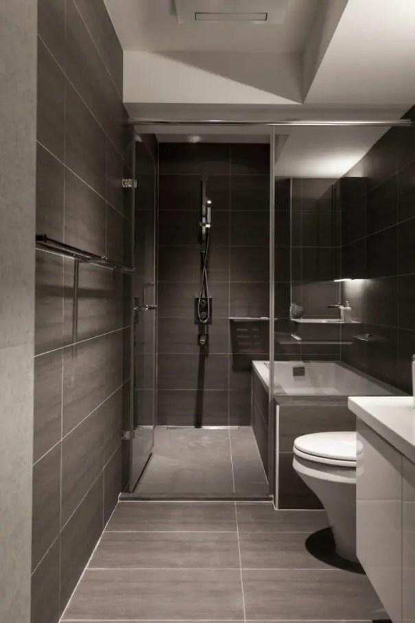 Minimalist bathroom design ideas 33