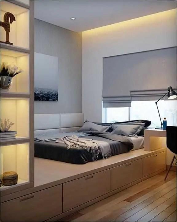 Modern minimalist bedroom design ideas 35