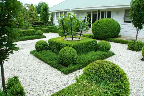 Modern&minimalist frontyard desgin ideas 03