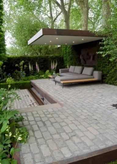 Modern&minimalist frontyard desgin ideas 05