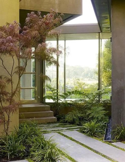 Modern&minimalist frontyard desgin ideas 32