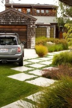 Modern&minimalist frontyard desgin ideas 41