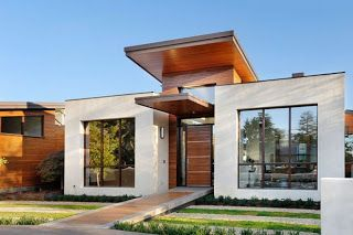 Simple exterior design ideas 13