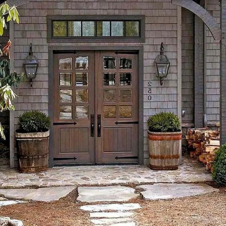Simple exterior design ideas 23