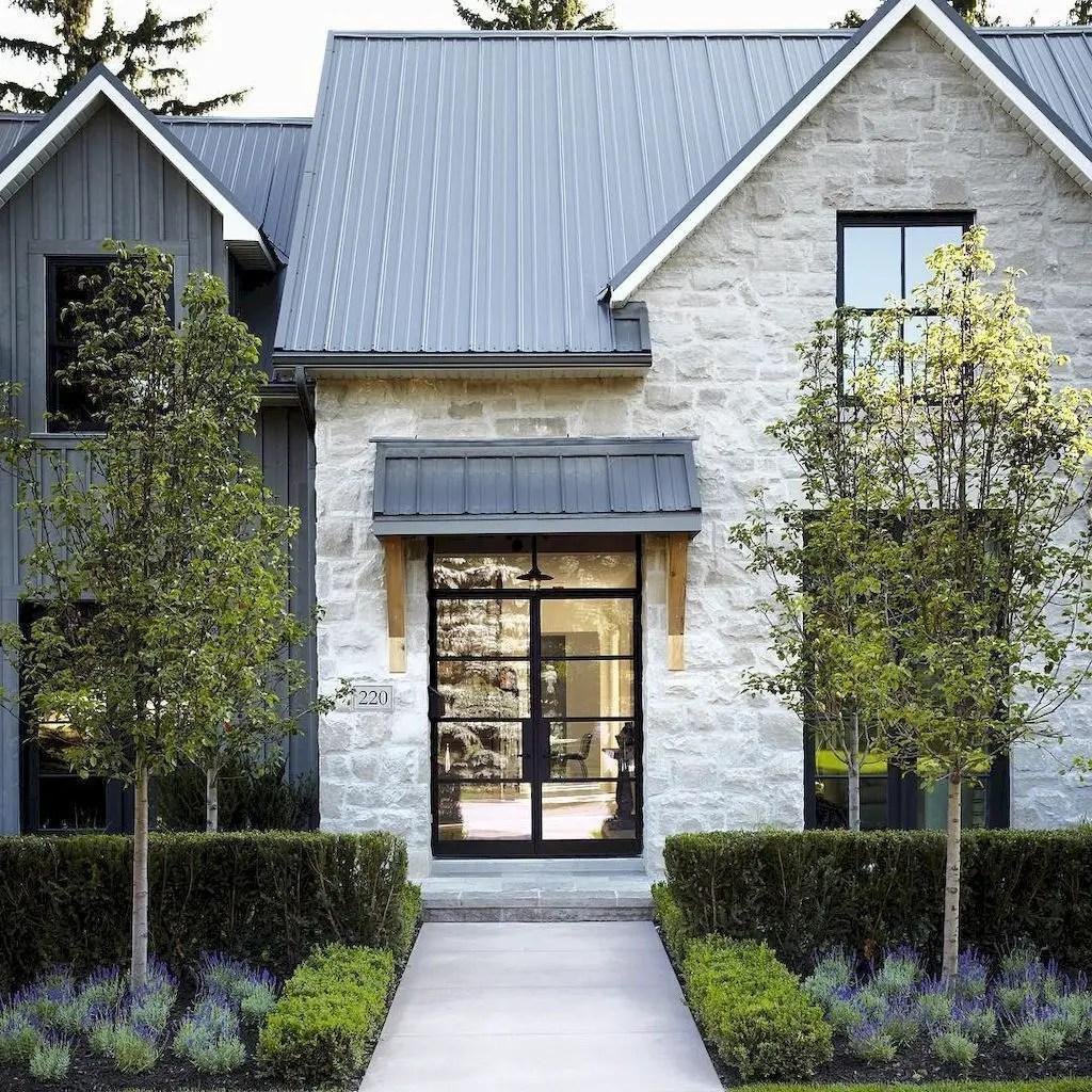 Simple exterior design ideas 25