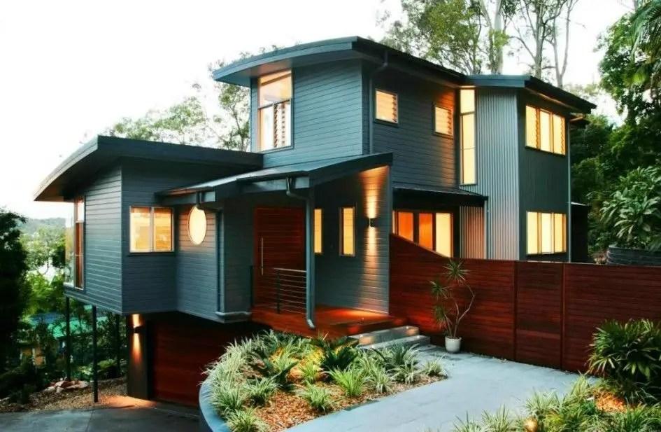 Simple exterior design ideas 41