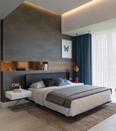 Wall bedroom design ideas that unique 43