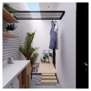 Diy drying place design ideas 44