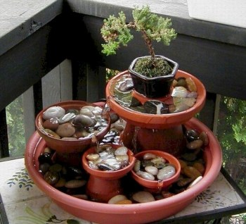 Indoor water garden ideas that fresh your room 27