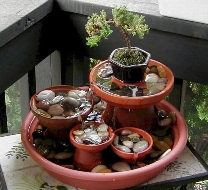 Indoor water garden ideas that fresh your room 27