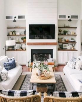 Inspiring living room wall design ideas 09