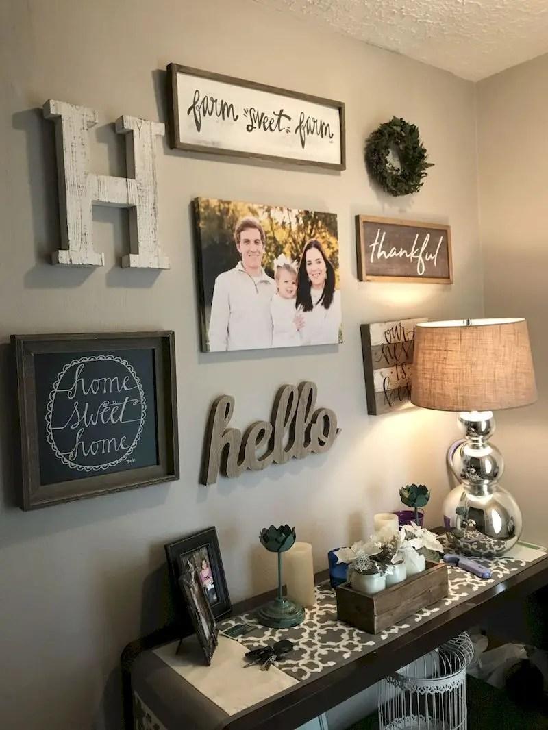 Inspiring living room wall design ideas 12