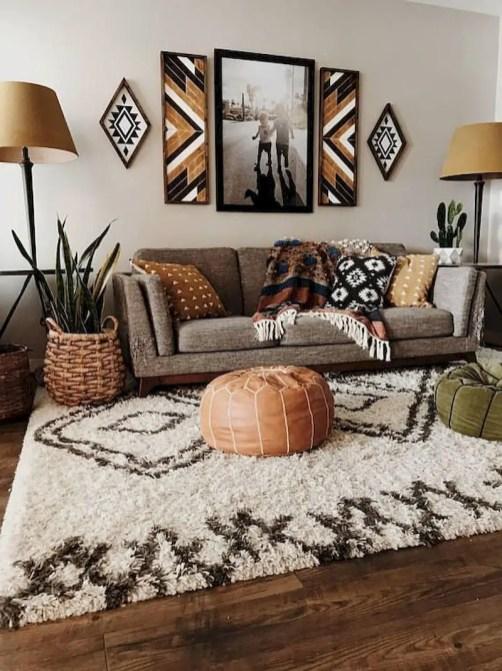 Inspiring living room wall design ideas 13