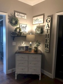 Inspiring living room wall design ideas 14