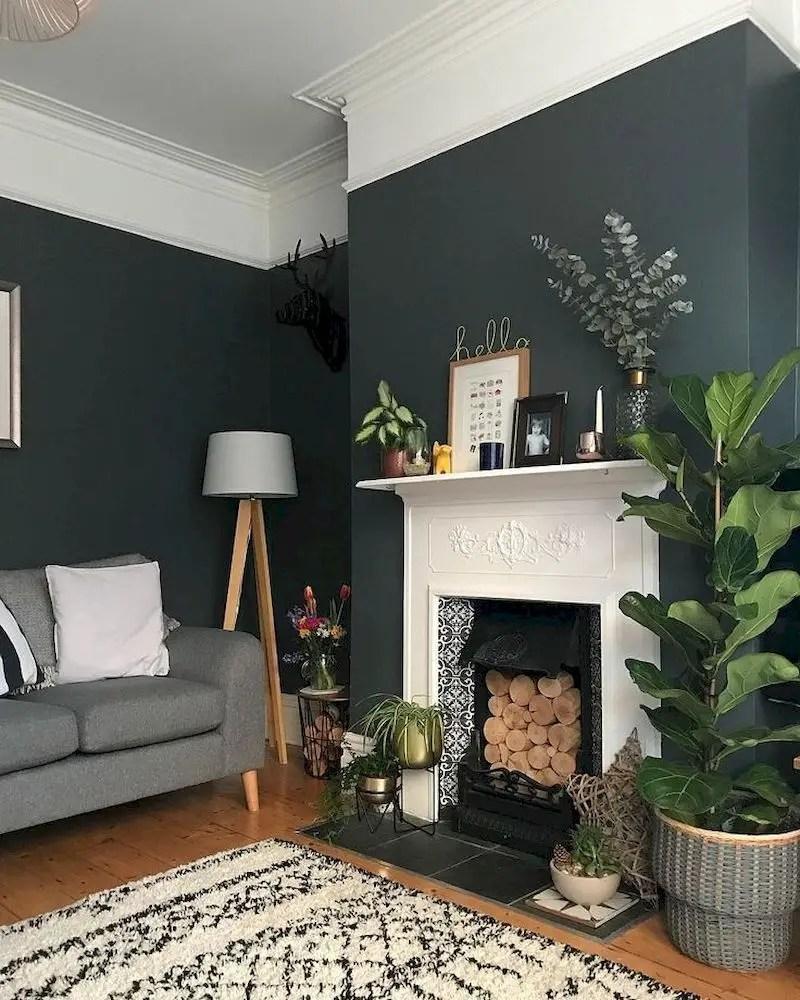 Inspiring living room wall design ideas 16